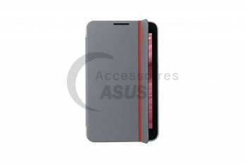MagSmart Cover gris bande rouge pour MeMo Pad