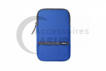 Pochette Zippered bleue pour tablette