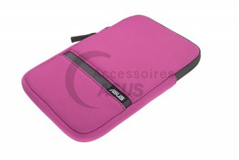 Pochette Zippered rose pour tablette