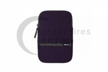 Pochette Zippered violet pour tablette
