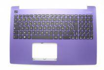 Clavier de portable violet