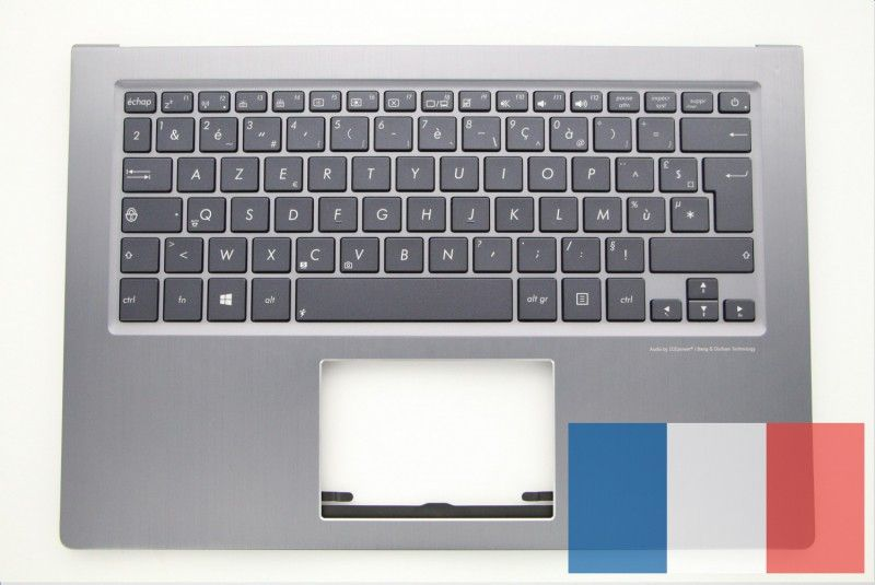 clavier de portable gris accessoires asus. Black Bedroom Furniture Sets. Home Design Ideas