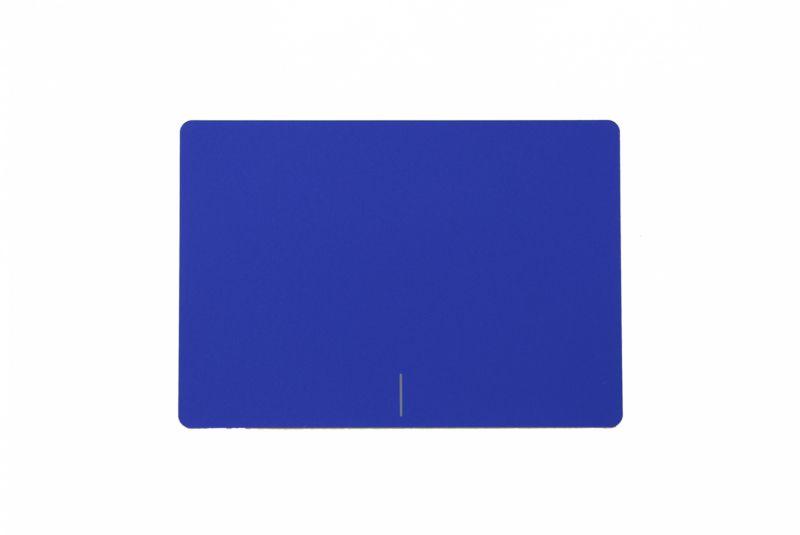 Plaque du touchpad bleue pour portable