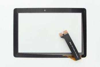 Vitre tactile noire pour Memo Pad HD 10