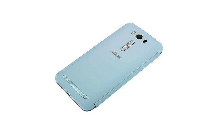 ZenFone 2 Laser View flip cover bleu