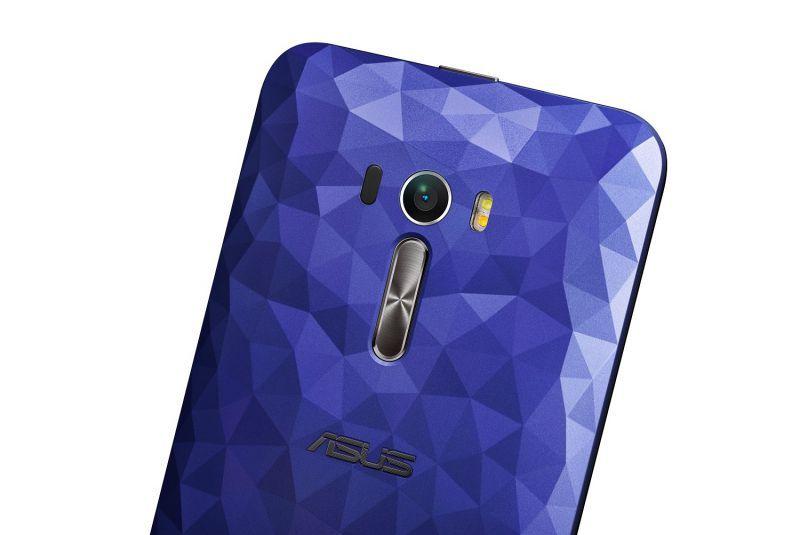 ZenFone Selfie Coque arrière bleue Illusion Polygone