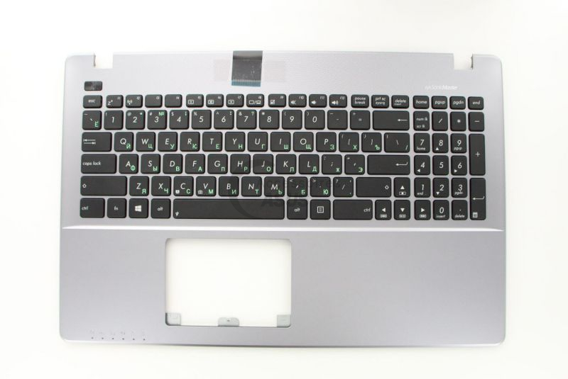 Clavier QWERTY gris Russe