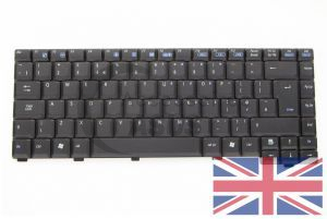 Clavier noir  QWERTY United Kingdom