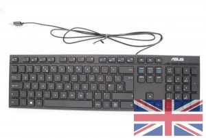 Clavier filaire pour All-in-one QWERTY United Kingdom