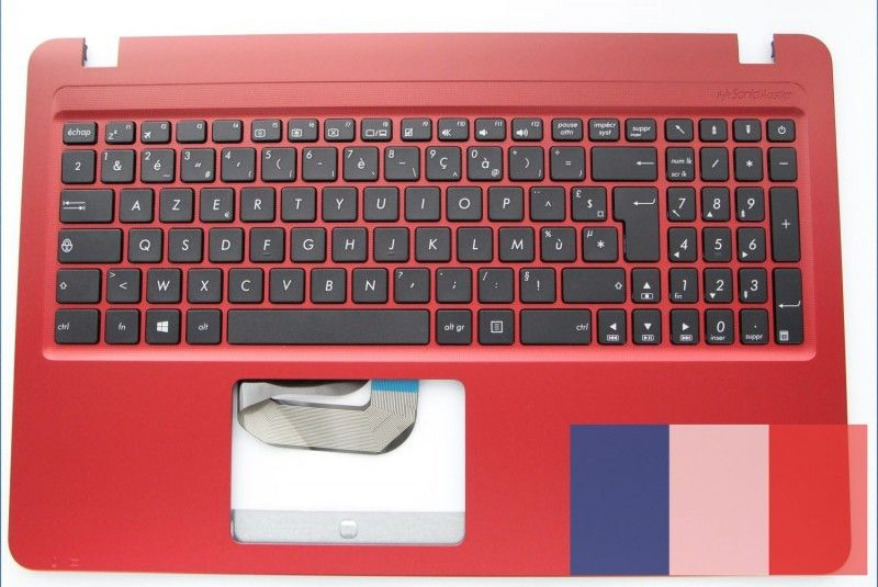 clavier rouge asus accessoires asus. Black Bedroom Furniture Sets. Home Design Ideas