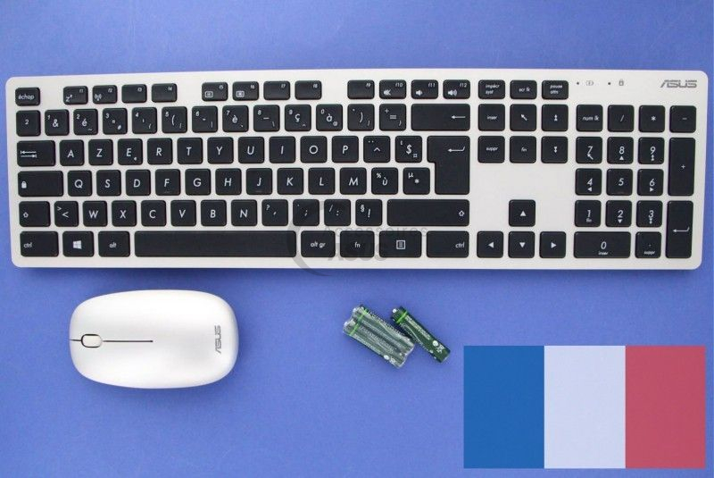 Pack clavier souris sans fil pour Zen All in one