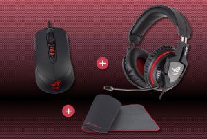 Pack souris GX860 - Tapis GM50 - Casque Orion Pro