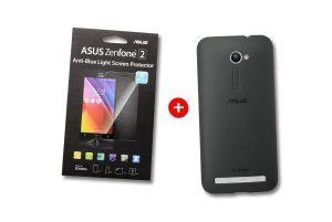 Pack Slim Case noir - Screen protector pour ZenFone 2 ZE500KL et ZE500KG