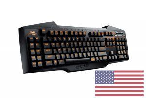 Clavier QWERTY Américain Strix Tactic Pro