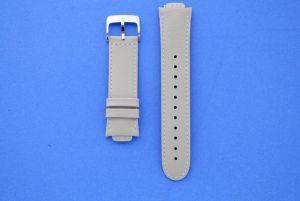 Bracelet beige en cuir pour montre ZenWatch 3