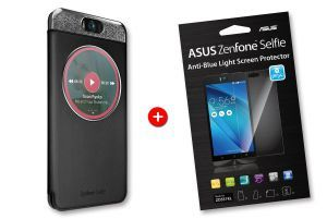Pack ZenFone Selfie Coque noire MyView + ScreenProtector