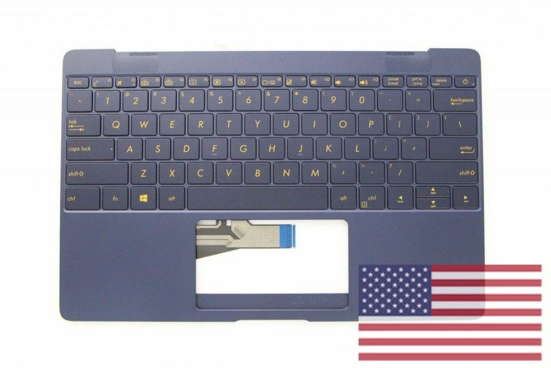 clavier bleu royal asus qwerty pour portable zenbook 3 accessoires asus. Black Bedroom Furniture Sets. Home Design Ideas