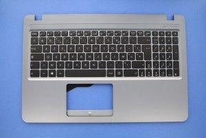 Clavier gris pour ordinateur portable