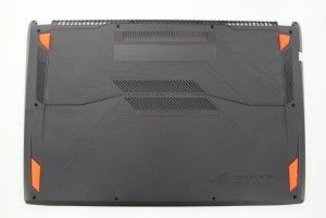 Bottom case noir pour portable STRIX ROG