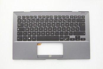 Clavier gris rétroéclairé pour portable Asus PRO