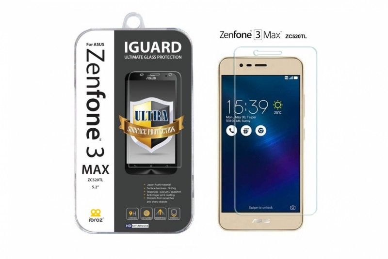 zenfone 3 max verre tremp ibroz accessoire t l phone accessoires asus. Black Bedroom Furniture Sets. Home Design Ideas