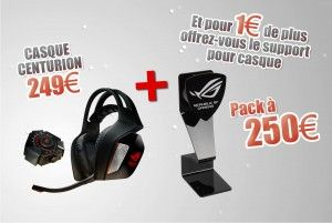 Pack Promo Casque + stand