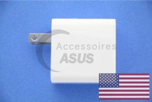 Chargeur Asus blanc 10W US