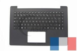 Plasturgie Noire Clavier TopCase Asus X453SA Type de clavier