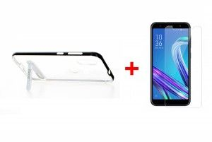 ZenFone Max M1 Coque transparente TV Stand Crutch