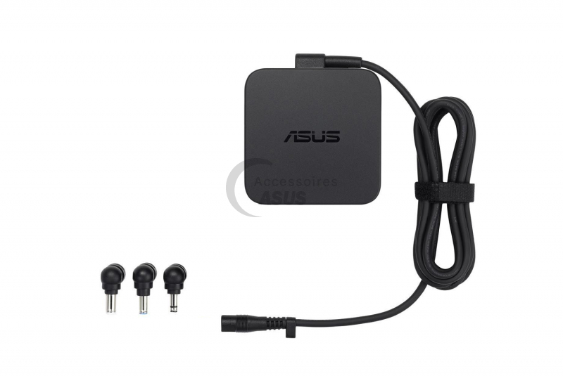 Chargeur Asus multi embouts 65W boîte