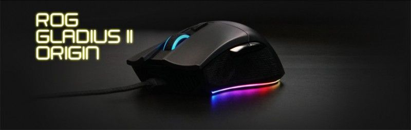 Souris gaming Asus ROG Gladius II Origin