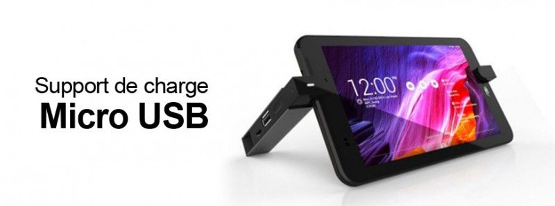 Support de chargement micro USB Asus