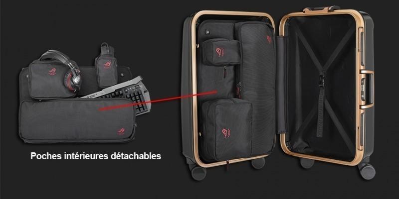 Valise rog ranger 24 pouces accessoires asus - Comment ranger une valise ...