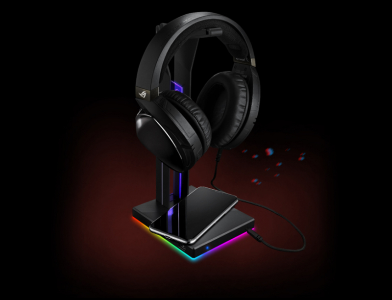 Support de casque ROG Throne QI Asus