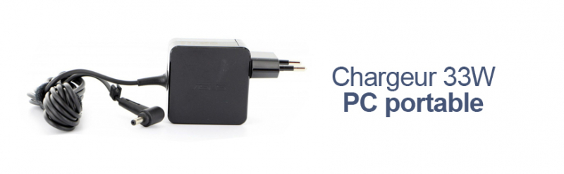 Chargeur 33W PC portable Asus