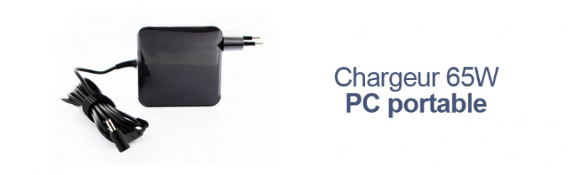 Chargeur 65W Pc portable Asus
