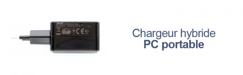 Chargeur hybride PC portable Asus