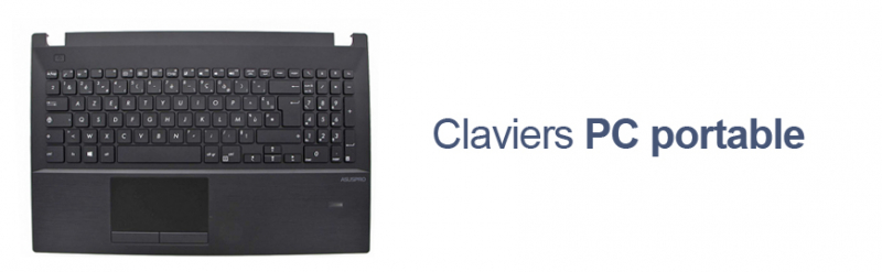 Claviers PC portable Asus