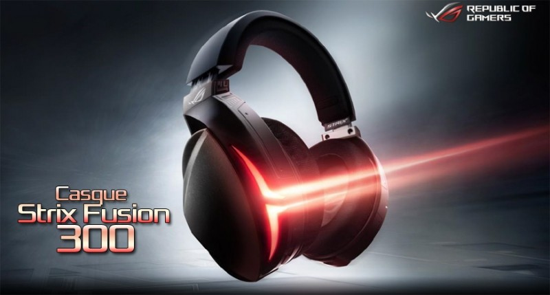 Casque Strix Fusion 300