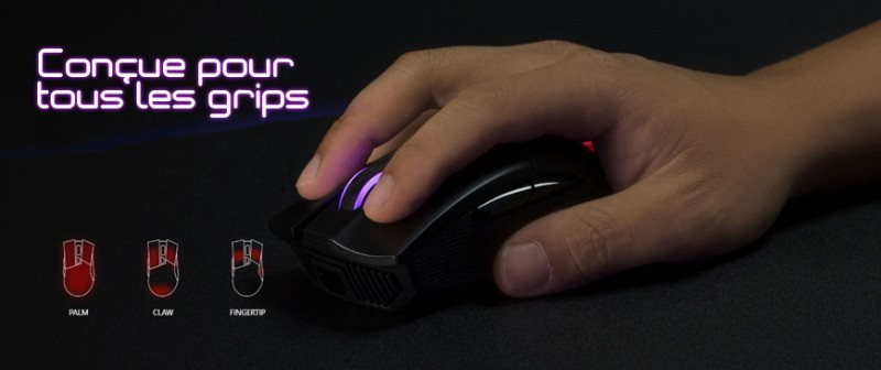 Souris ROG Gladius II Wireless