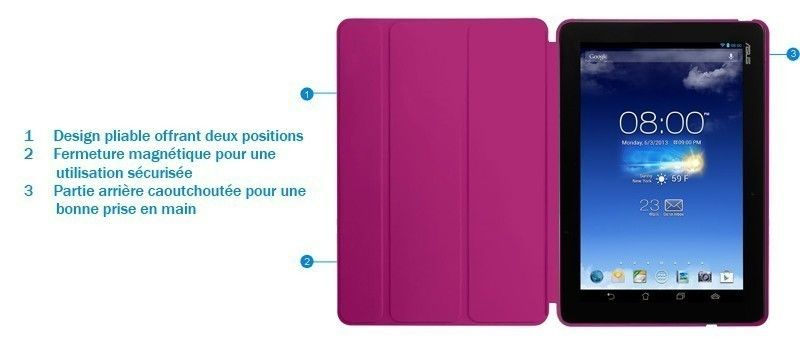 Tricover rouge pour FonePad