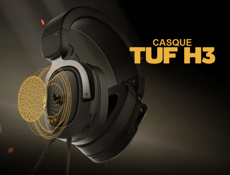 Asus Casque TUF Gaming H3