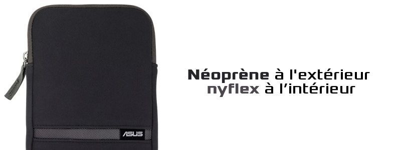 Etui Zippered sleeve Asus
